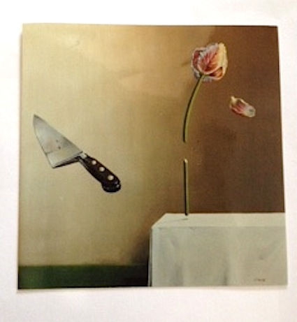 Knife and tulip
