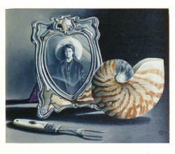 Silver frame and shell